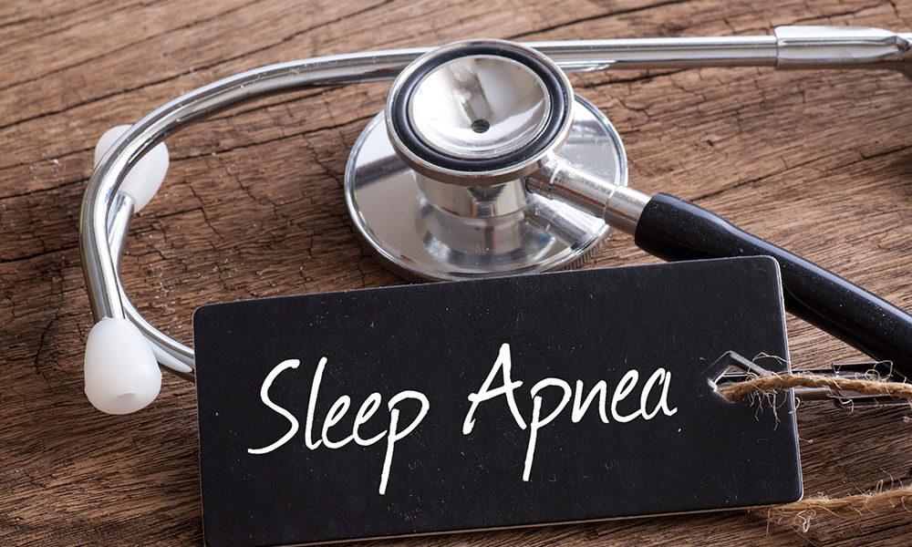 Sleep Apnea Written on Chalkboard