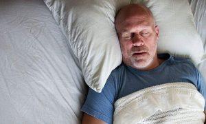 Man Sleeping (Snoring)