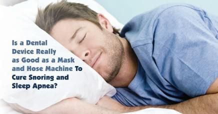 Oral Appliances Versus CPAP Machines