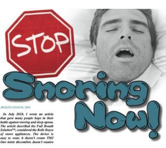 Stop Snoring Infograph